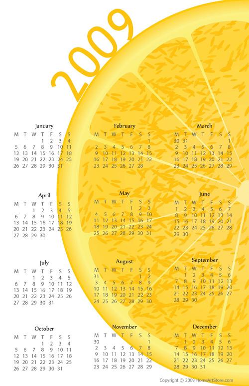 Orange_Calendar_2009