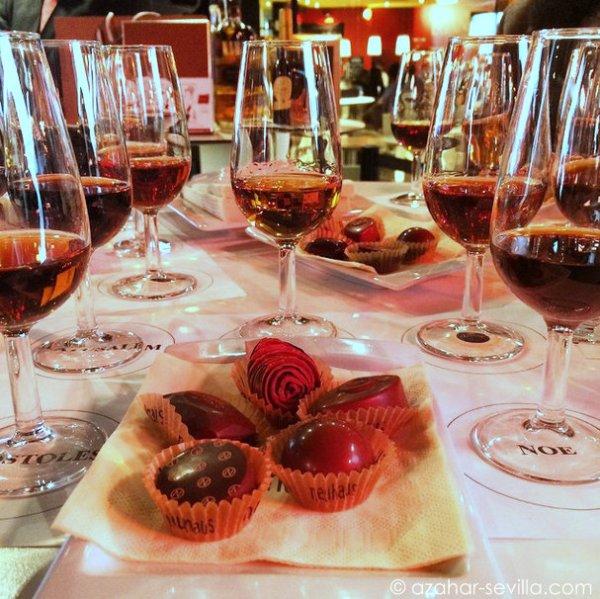 chocolate sherry whisky brandy