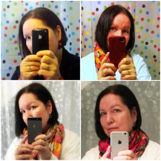 4 iphones