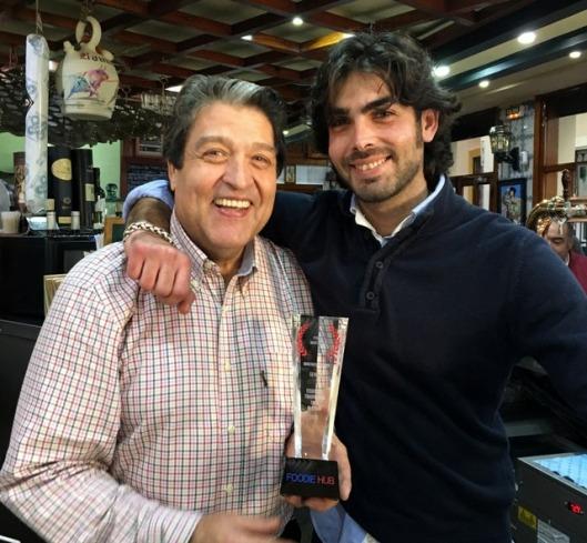 Pedro and Alejandro Romero