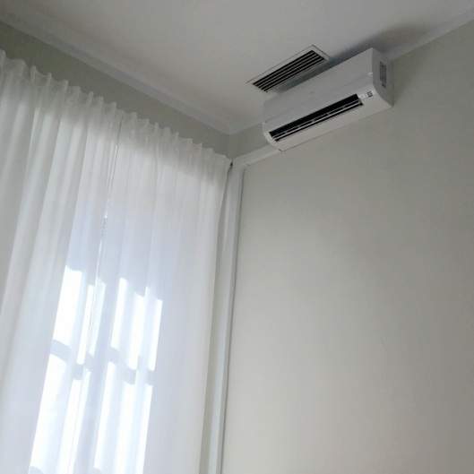 aircon on