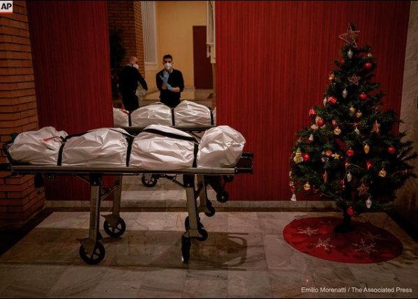 covid christmas eve