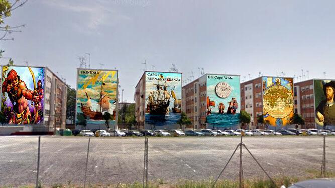 alex virtual murals
